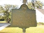 Flemington Presbyterian Church Marker, Flemington, GA