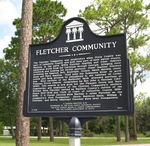 Fletcher Community Marker, Dixie County, FL
