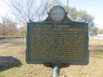 FL Manufacturing Company Marker, Madison, FL by George Lansing Taylor Jr.