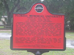 FL Memorial University Marker, St. Augustine, FL