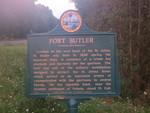 Fort Butler Marker, Astor, FL