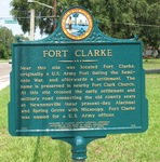 Fort Clarke Marker, Gainesville, FL by George Lansing Taylor Jr.