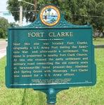 Fort Clarke Marker, Gainesville, FL
