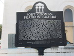 Fort Coombs Franklin Guards Marker, Apalachicola, FL