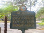 Fort Hogtown Marker, Gainesville, FL by George Lansing Taylor Jr.