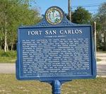 Fort San Carlos Marker, Fernandina Beach, FL