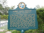 Fort San Diego Marker, Palm Valley, FL by George Lansing Taylor Jr.