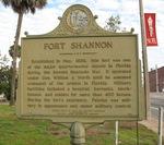 Fort Shannon Marker, Palatka, FL