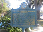 Four Freedoms Marker, Madison, FL by George Lansing Taylor Jr.