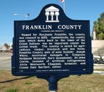 Franklin County Marker, Apalachicola, FL by George Lansing Taylor Jr.