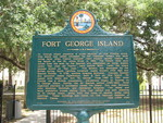Fort George Island Marker (Obverse), Jacksonville, FL