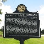 Gragg Lumber Company Marker (Obverse), Amsterdam, GA