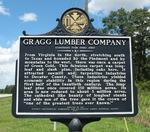 Gragg Lumber Company Marker (Reverse), Amsterdam, GA