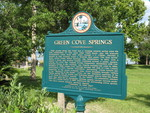 Green Cove Springs Marker (Obverse), Green Cove Springs, FL by George Lansing Taylor Jr.
