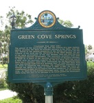 Green Cove Springs Marker (Reverse), Green Cove Springs, FL by George Lansing Taylor Jr.
