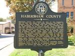 Habersham County Marker, Clarkesville, GA