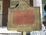 Hall County Sesquicentennial Marker, Gainesville, GA