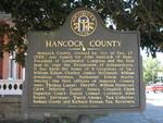 Hancock County Marker, Sparta, GA