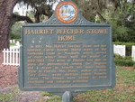 Harriet Beecher Stowe Home Marker, Mandarin, Jacksonville, FL