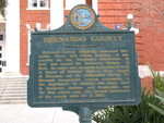 Hernando County Marker, Brooksville, FL