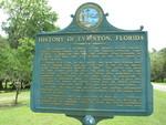 History of Evinston, FL Marker, Evinston, FL