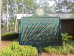 Hogtown Settlement Marker, Gainesville, FL by George Lansing Taylor Jr.
