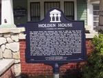 Holden House Marker, Bunnell, FL