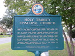 Holy Trinity Episcopal Church Marker, Fruitland Park, FL by George Lansing Taylor Jr.