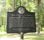 Home of Governor E.D. Rivers Marker, Lakeland, GA