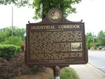 Industrial Corridor Marker, Madison, GA by George Lansing Taylor Jr.