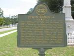 Irwin County Marker, Ocilla, GA