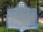 Jacksonville's 1901 Fire Marker, Jacksonville, FL