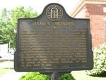 James Monroe Marker, Monroe, GA