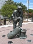 Jacksonville Naval Memorial Statue 2, Jacksonville, FL