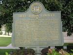 Jeff Davis County Marker, Hazlehurst, GA