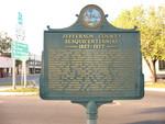 Jefferson County Sesquicentennial Marker, Monticello, FL