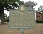 Jefferson Davis Marker 1, Abbeville, GA