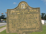 Jenkins Courthouse Marker, Millen, GA