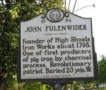 John Fulenwider Marker, High Shoals, NC by George Lansing Taylor Jr.