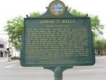 Josiah T. Walls Marker 2 (Reverse), Gainesville, FL