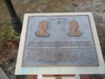 Keene-Flint Hall Plaque, UF, Gainesville, FL by George Lansing Taylor Jr.