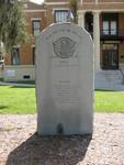 Korean Vietnam Memorial Marker, Inverness, FL