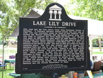 Lake Lily Drive Marker, Maitland, FL