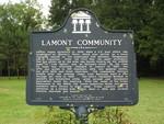 Lamont Community Marker, Lamont, FL