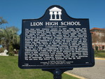 Leon High School Marker, Tallahassee, FL by George Lansing Taylor Jr.