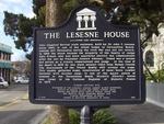 The Lesesne House marker, Fernandina Beach, FL