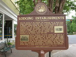 Lodging Establishments Marker, Madison, GA