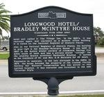 Longwood Hotel / Bradlee-McIntyre House Marker (Reverse), Longwood, FL