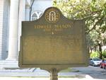 Lowell Mason Marker, Savannah, GA