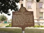 Lowndes County Marker, Valdosta, GA